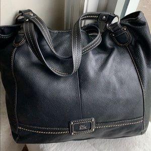The Sak black large leather hobo bag 19 X13
